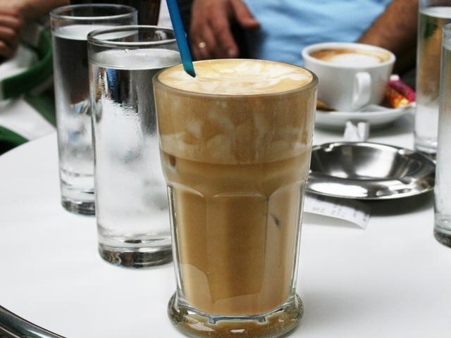 Cà phê Frappé- Hy Lạp