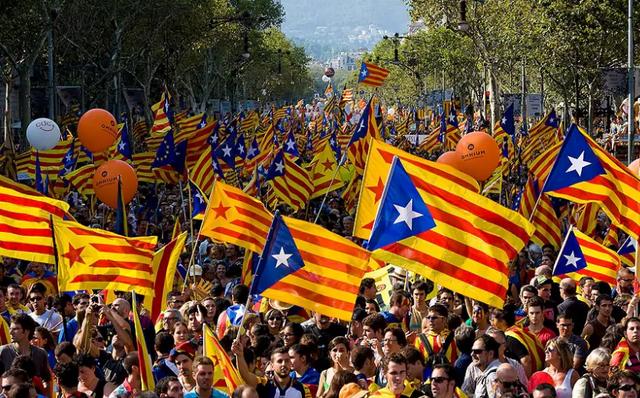 Lãnh đạo Catalonia có thể tuyên bố độc hôm nay 10/10. (Ảnh: AFP)
