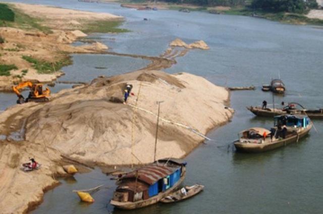Phó Thủ tướng chỉ đạo kiên quyết xử lý các hành vi sai phạm trong hoạt động khai thác cát, sỏi.
