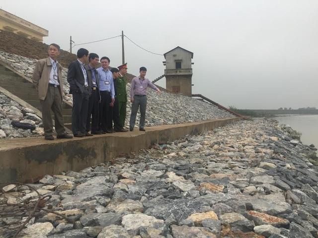 Đoạn đê bị sạt lở, tỉnh Bắc Ninh phải đầu tư hơn 30 tỷ đồng để khắc phục
