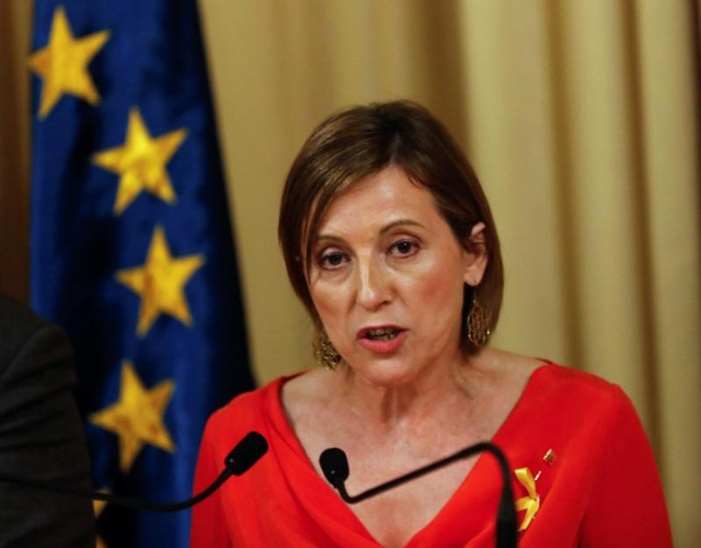 Chủ tịch Nghị viện Catalonia Carme Forcadell (Ảnh: Reuters)