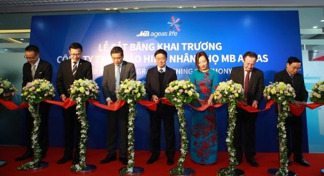 Công ty TNHH Bảo hiểm nhân thọ MB Ageas chính thức khai trương và công bố thương hiệu - 1
