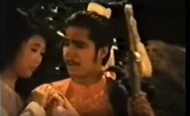 Lý Hùng - Diễm Hương tạo nên một cặp đôi đẹp trên màn ảnh thời đó.