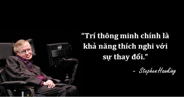 Những câu nói để đời của thiên tài vật lý Stephen Hawking - 10