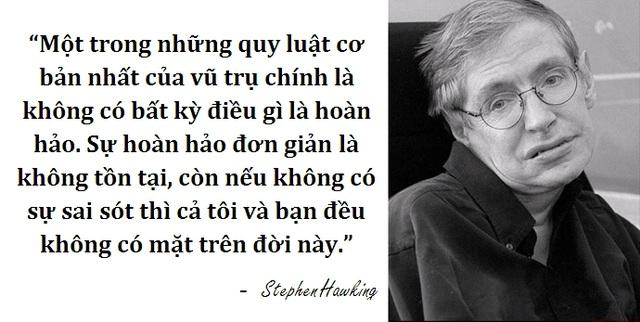 Những câu nói để đời của thiên tài vật lý Stephen Hawking - 5