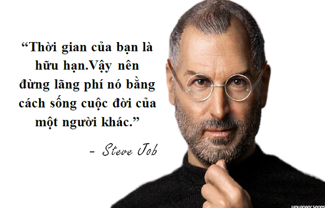 """Những câu nói truyền cảm hứng """"bất hủ"""" của Steve Jobs - 2"""