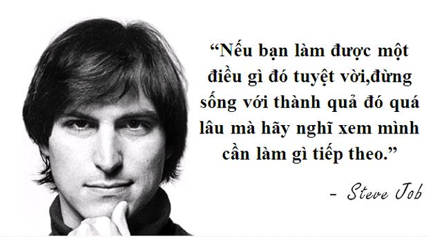 """Những câu nói truyền cảm hứng """"bất hủ"""" của Steve Jobs - 4"""
