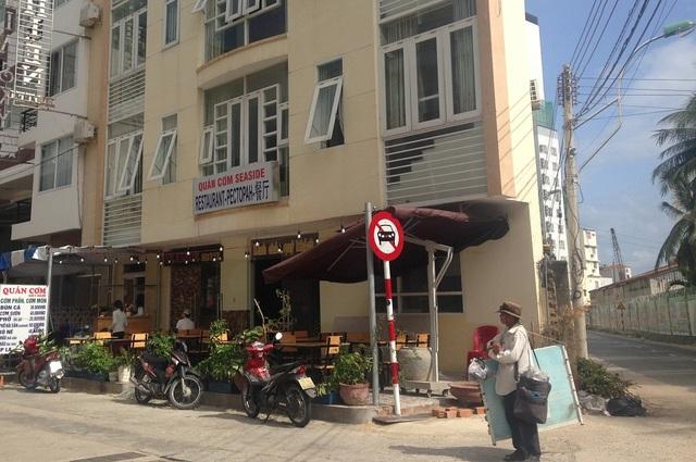 khách sạn Bờ Biển Seaside II (đường Trần Phú, TP Nha Trang) bị phạt nặng vì bán cao hơn giá niêm yết