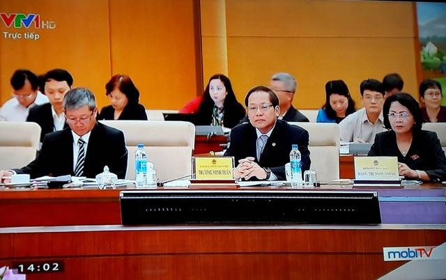 Nhiều lãnh đạo Đảng, Nhà nước, các Bộ ngành cùng tham dự phiên chất vấn Bộ trưởng TT-TT.