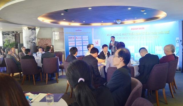 Chương trình cà phê doanh nhân thường kỳ hàng tháng đang được tổ chức tại tỉnh Thừa Thiên Huế để nâng cao tính tương tác giữa chính quyền và doanh nghiệp