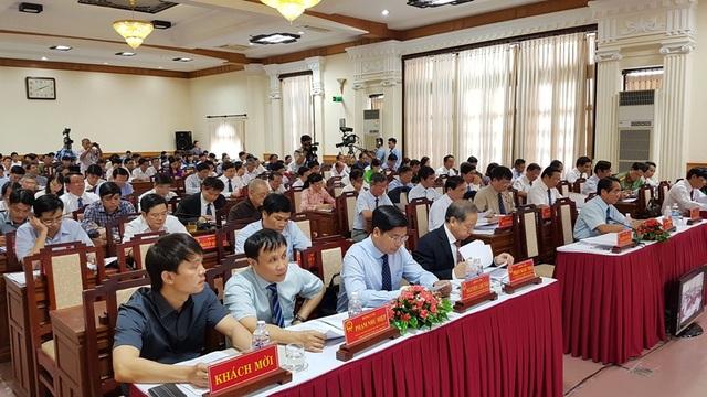 Các đại biểu HĐND tỉnh Thừa Thiên Huế
