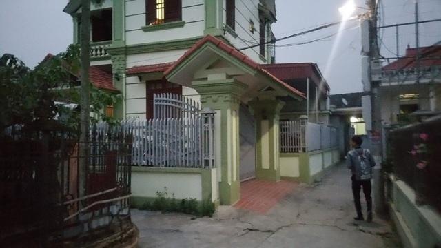 Ngôi nhà của ông bà ngoại Linh, nơi cháu bé có nhiều năm sinh sống thủa thơ ấu (ảnh: Thu Hằng)