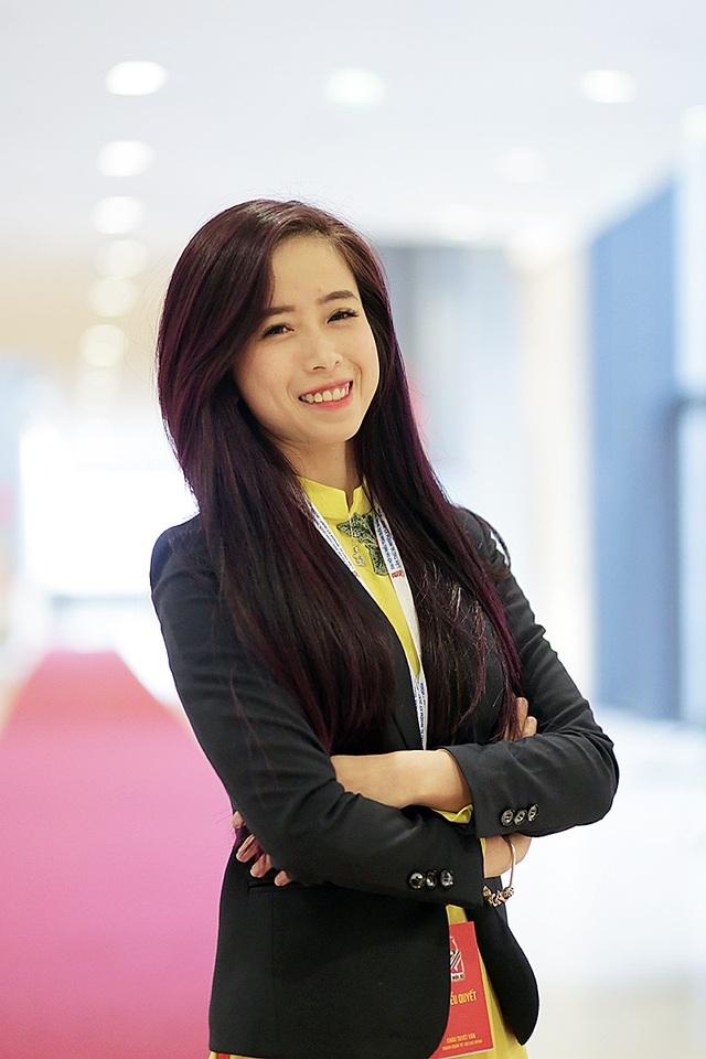 Châu Tuyết Vân tham dự Đại hội Đoàn toàn quốc XI với tư cách là đại biểu của đoàn Thành phố Hồ Chí Minh.