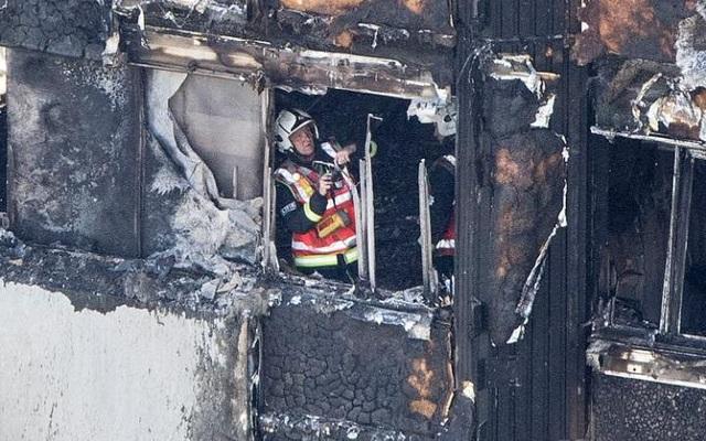 Nguyên nhân vụ hỏa hoạn đang được điều tra làm rõ. (Ảnh: PA)