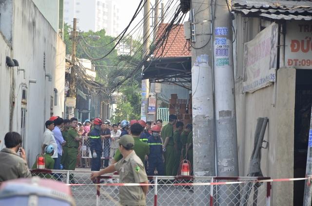 cháy nhà 4 người chết