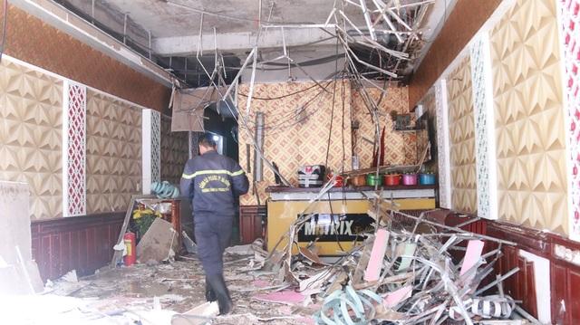 Đám cháy làm hư hỏng nhiều tài sản của quán