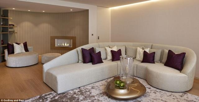 Một phòng khách ấm cúng khác