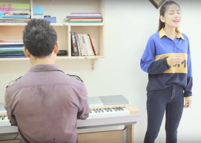 Chi Pu âm thầm theo học thanh nhạc trong 3 năm qua.