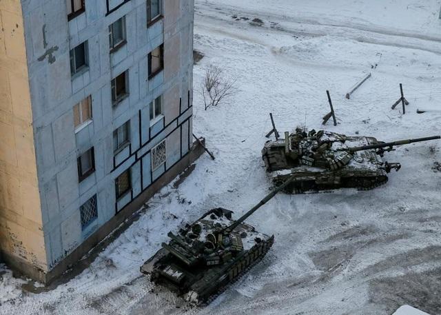 Các nguồn tin cho biết giao tranh giữa phe đòi độc lập và các lực lượng chính phủ ở Đông Ukraine đã leo thang trong những ngày gần đây, đặc biệt tại thị trấn Avdiyivka, gần Donetsk. (Ảnh: Reuters)