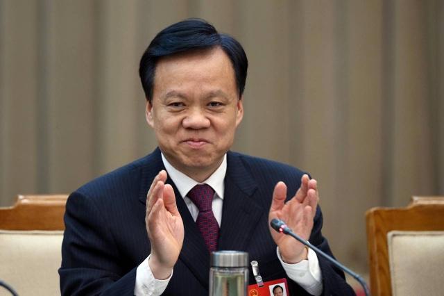 Ông Trần Mẫn Nhĩ, tân bí thư Trùng Khánh. (Ảnh: Reuters)