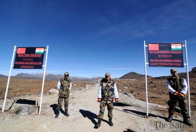 Một khu vực biên giới Trung - Ấn (Ảnh: The Nation)