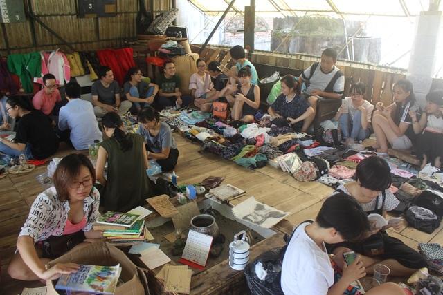Chợ phiên người yêu cũ được tổ chức trong tháng 9 này có sức chứa khoảng hơn 20 gian hàng. (Ảnh: Hồng Vân)