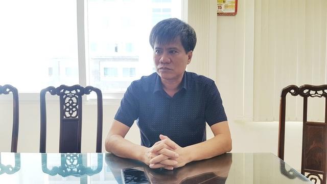 Ông Nguyễn Anh Tuấn, Phó Giám đốc Trung tâm Phát triển Quỹ đất TP Huế cho biết Chủ đầu tư đã sai khi mặt bằng chưa bàn giao mà đã tiến hành thi công