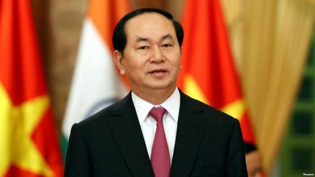 Chủ tịch nước Trần Đại Quang gửi thư chúc mừng Nhân tài Đất Việt 2017