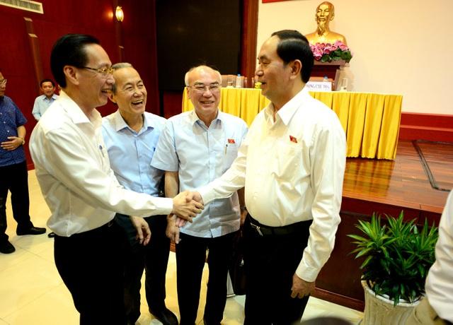 Chủ tịch nước Trần Đại Quang cho biết Chính phủ đã chỉ đạo rà soát các dự án khai thác cát