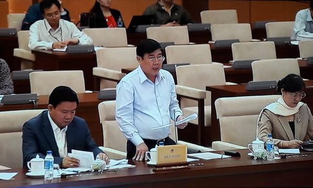 Chủ tịch UBND thành phố Nguyễn Thành Phong than: Chưa thấy tinh thần phân cấp, phân quyền mạnh mẽ cho TPHCM.