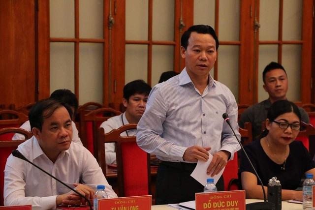 Chủ tịch UBND tỉnh Yên Bái Đỗ Đức Duy.