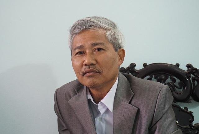Ông Lê Văn Hùng - Chủ tịch UBND xã Hưng Thịnh: Chúng tôi là đơn vị được thụ hưởng, không biết nhà tài trợ là ai.