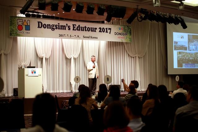 Ông Jeong Shin - Chủ tịch tập đoàn Dongsim Hàn Quốc.