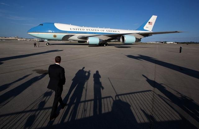Chuyên cơ Air Force One của Tổng thống Mỹ. (Ảnh: AFP)