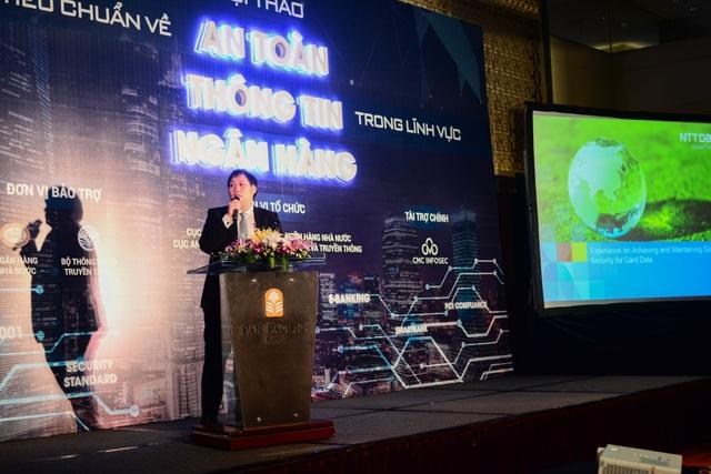 Chuyên gia Thanut Pimhataivoot Tập đoàn NTT Thái Lan