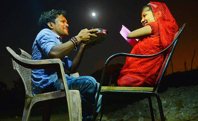 Câu chuyện tình cổ tích của cặp đôi Ấn Độ: Lakshmi và Vinod (ảnh: Dainik Bhaskar)