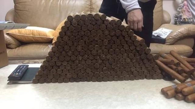 Những điếu Cigar đưa về Việt Nam chất đống thế này luôn bị nghi ngờ về chất lượng