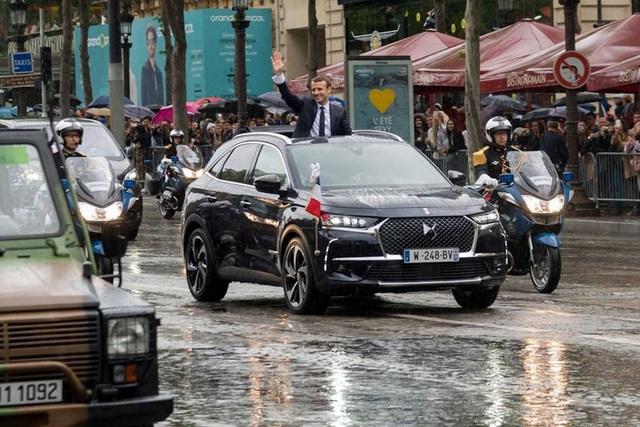 Tân tổng thống Pháp dùng xe gì trong lễ nhậm chức? - 4