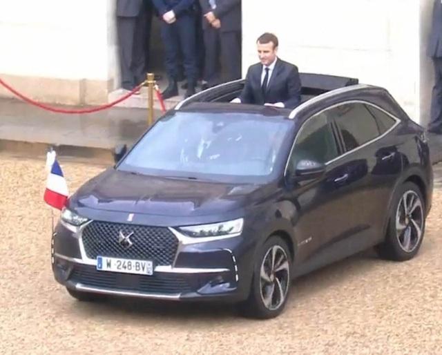 Tân tổng thống Pháp dùng xe gì trong lễ nhậm chức? - 9