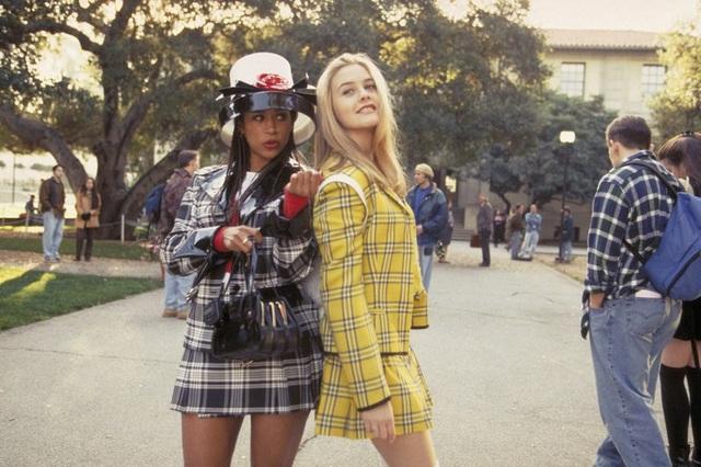 Hình ảnh Trường Trung học Beverly Hills trong phim Clueless.