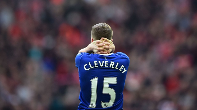Cleverley đã không thể tìm lại mình ở Everton