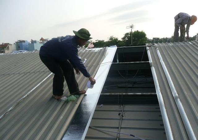 Hãy lắp đặt mái cách nhiệt cho căn nhà của bạn.