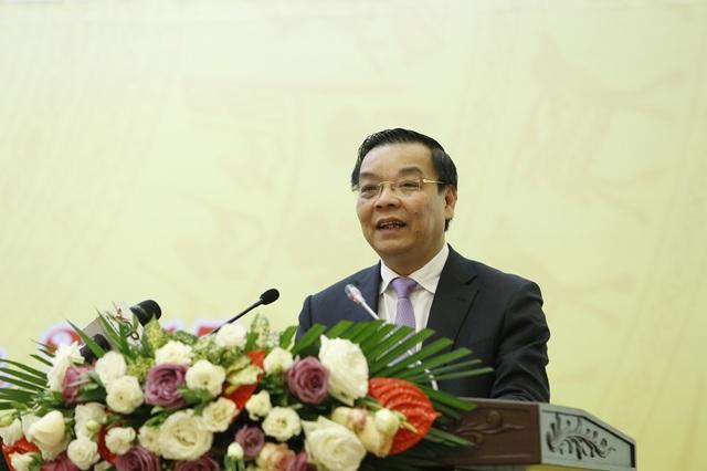 Báo cáo tổng kết của Bộ trưởng Bộ Khoa học và Công nghệ Chu Ngọc Anh được các đại biểu đánh giá rất cao và đồng thuận.