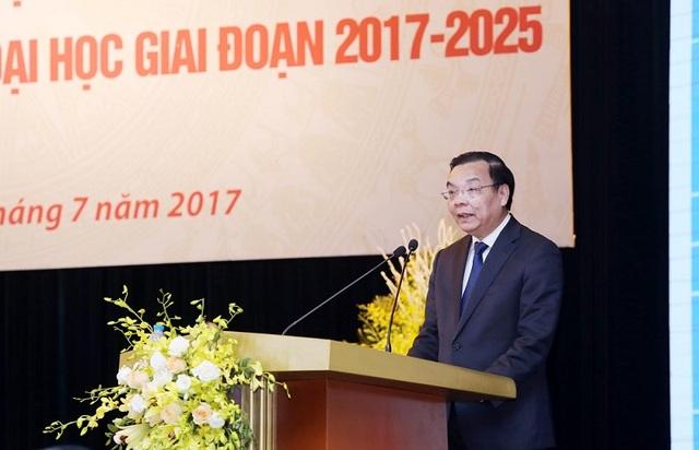 Bộ trưởng Chu Ngọc Anh chia sẻ tại Hội nghị.