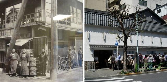 Hình ảnh nhà hàng Tamahide trong ngày đầu mới thành lập và hiện tại không thay đổi nhiều