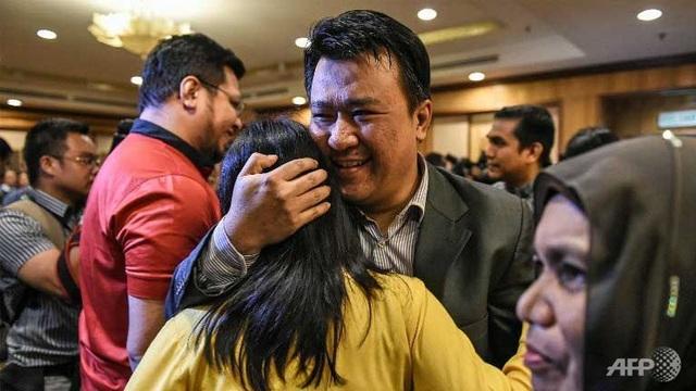 9 công dân Malaysia ở Triều Tiên trở về nước an toàn. (Ảnh: AFP)