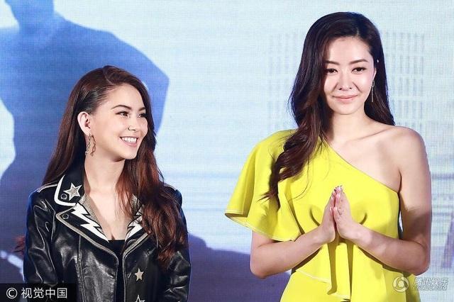 Côn Lăng tham dự sự kiện tại Bắc Kinh, Trung Quốc, tối 12/7 cùng siêu mẫu kiêm diễn viên Lâm Đại Hùng.