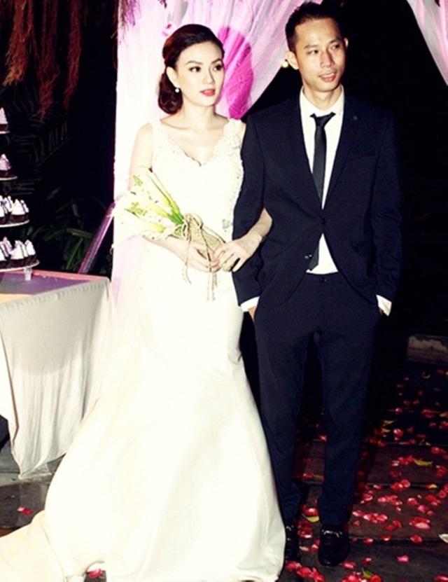 Hình ảnh lễ cưới của Thu Thủy.