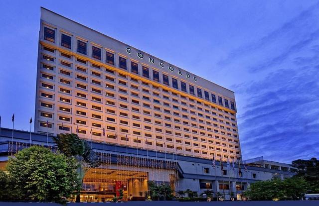 Khách sạn Concorde Shah Alam, nơi đội tuyển futsal nam Việt Nam đang lưu trú trong những ngày diễn ra SEA Games 29