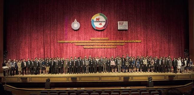 Nhiều vấn đề về chính sách quản lý và khoa học được hơn 100 đại diện cùng thảo luận tại hội nghị CONFRASIE 12 này.